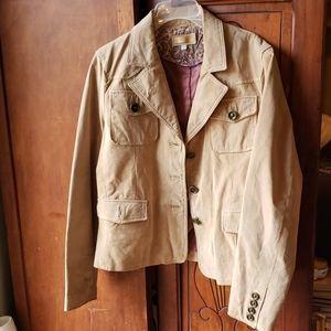 Seude leather jacket